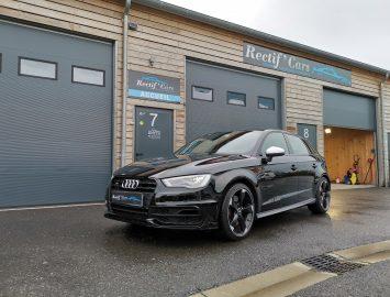 Audi A3 S3 chez Rectif'CArs