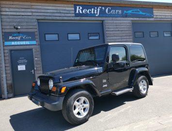 Jeep Wrangler devant Rectif'CArs